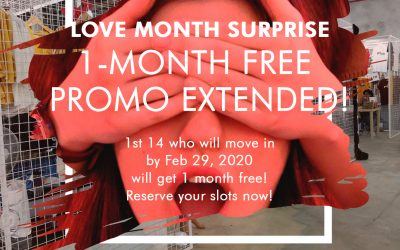 FREE 1-month RENT Promo Extended!