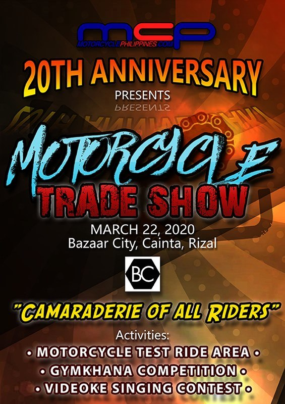 Motorcycle Philippines 20th Anniversary Presents Motorcycle Trade Show