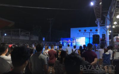 Successful Open Area Night time Event at Bazaar City