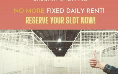 Bazaar City waives the daily rental fees!